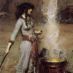 John_William_Waterhouse_-_Magic_Circle (1)