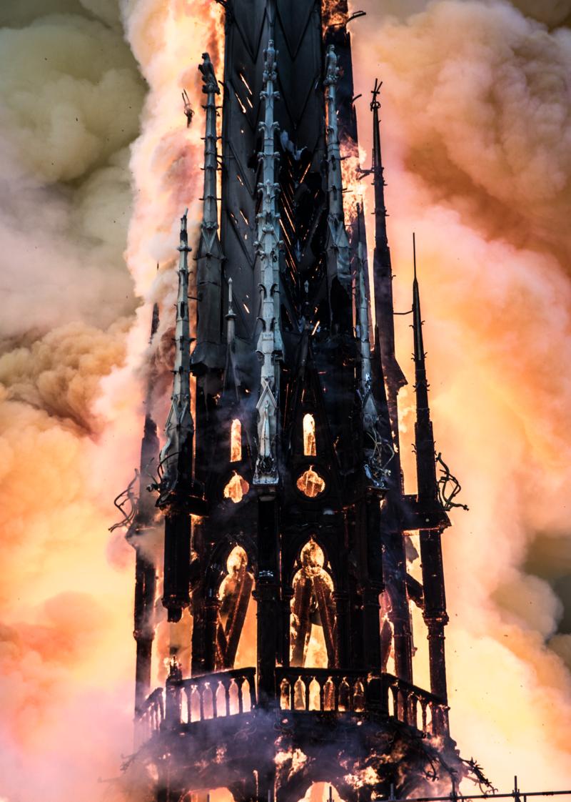 Notre-Dame de Paris incendio