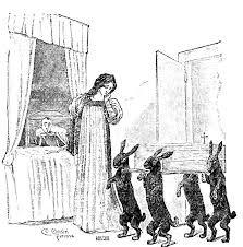 La Fata Turchina con Pinocchio in un'illustrazione originale del libro